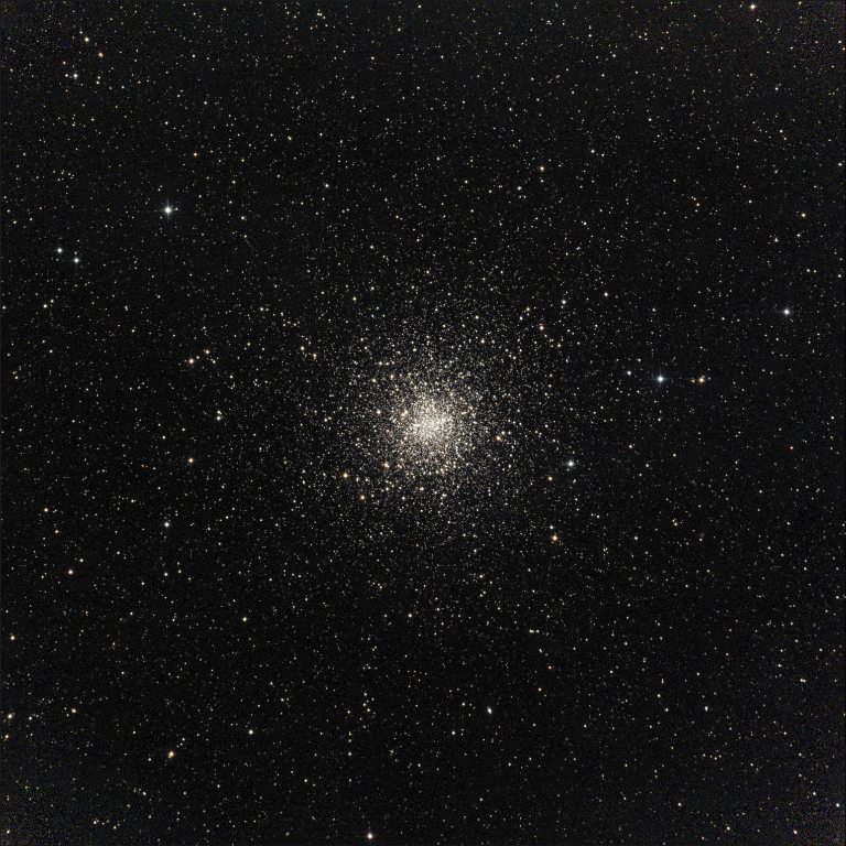 "M4 is a globular cluster in the constellation of Scorpius.  This picture taken 5/23/2014 with a Planewave 20"" CDK located at the Siding Spring Observatory - Australia."